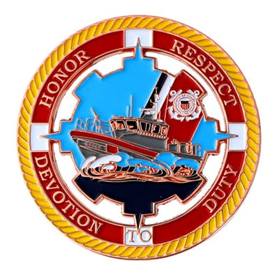 Coast Guard Challenge Coins 1