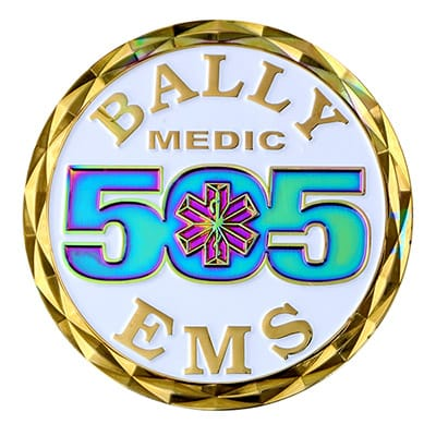 EMS Challenge Coins 5