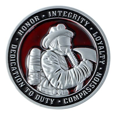 Fire Department Challenge Coins 1
