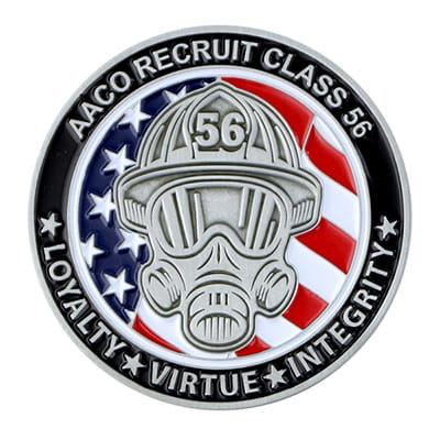 Fire Department Challenge Coins 2