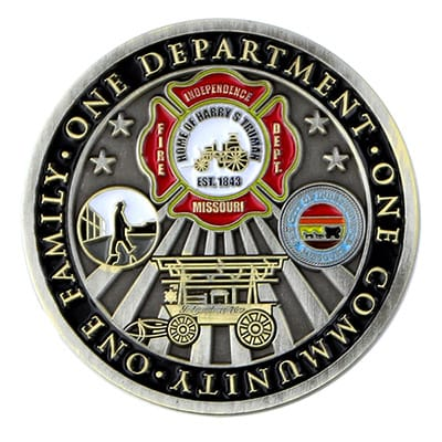 Fire Department Challenge Coins 3