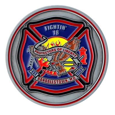 Fire Department Challenge Coins 4