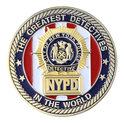 NYPD Coins