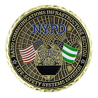 NYPD Challenge Coins 4