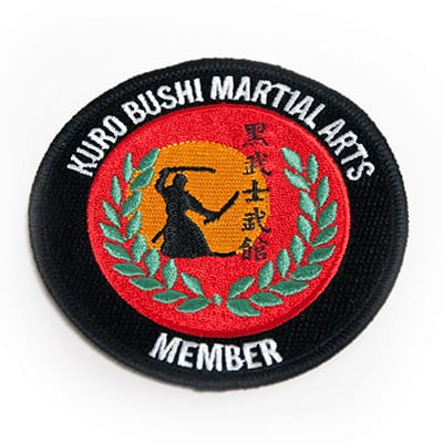 Martial Arts Patches 1