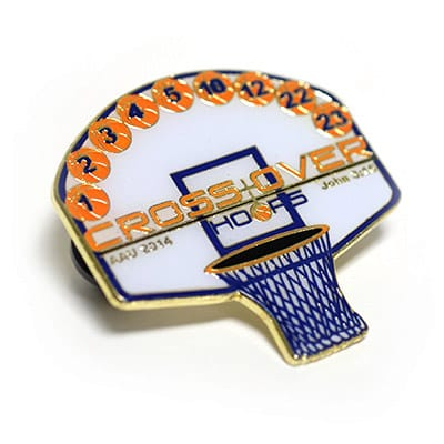 Basketball Trading Pins 1