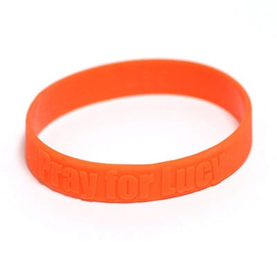 Embossed Wristbands 2